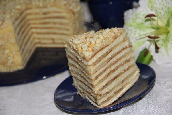 Торт со сгущенкой на сковороде Ингредиенты: Для коржей: М