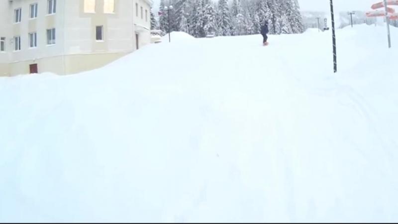 учусь сноуборду