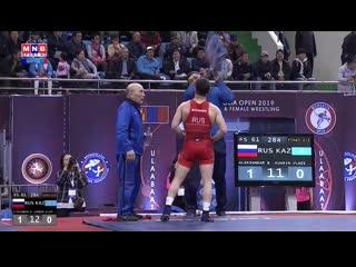 Монголия опен-2019  Финал 61 кг Александр Богомоев -Казахстанский борец