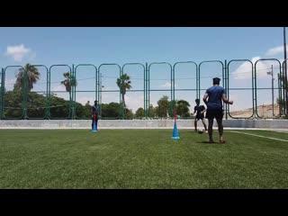 Футбольные упражнения для улучшения навыков паса - 5 уровней упражнения.