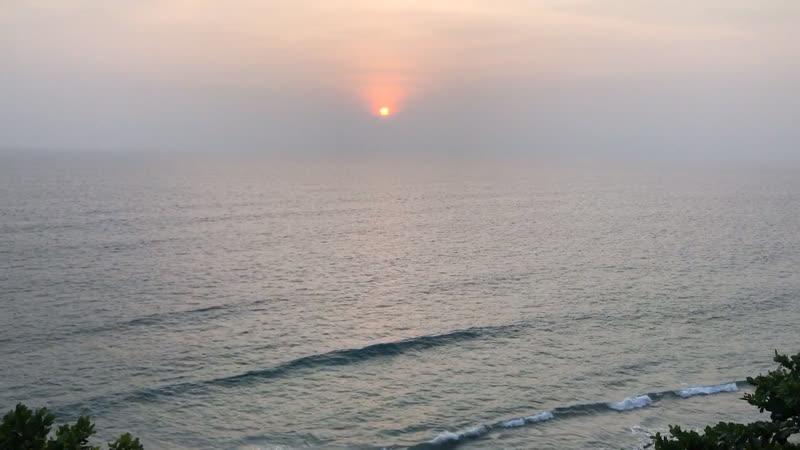 Варкала закат 31 12 2019г
