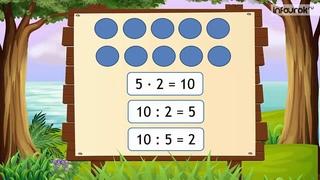 Таблица деления на число 2 и с частным 2   Математика 2 класс #32   Инфоурок cut1