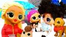 Видео про куклы лол. Куклы Барби и ЛОЛ ОМГ Сюрприз в детском саду! Какой из Барби воспитатель