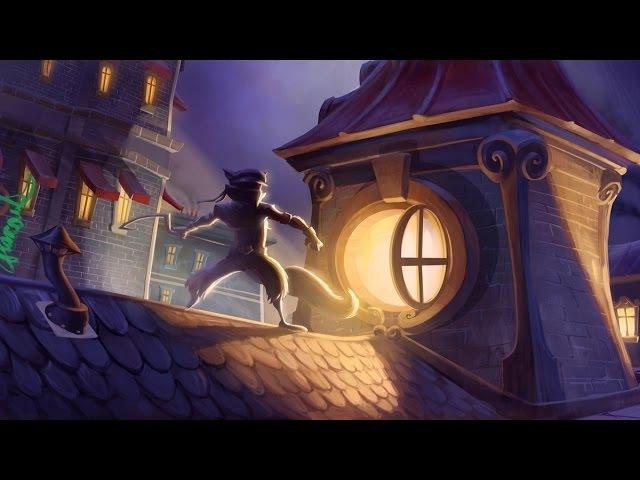 Слай Купер Прыжок во времени Мультяшные катсцены