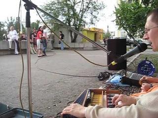 Харинама в ОМске с Друвантх прабху .