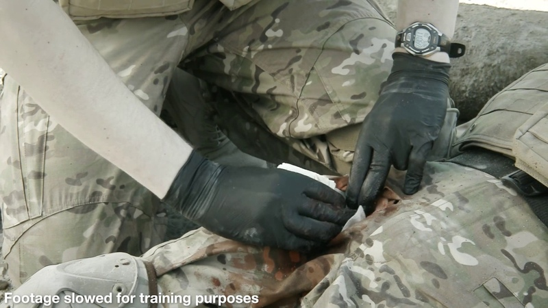 Celox Rapid training video - Military emergency response (Europe CE regions)