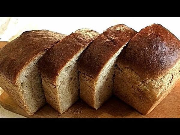 ПШЕНИЧНО РЖАНОЙ ХЛЕБ Вкусно и полезно WHEAT Rye bread