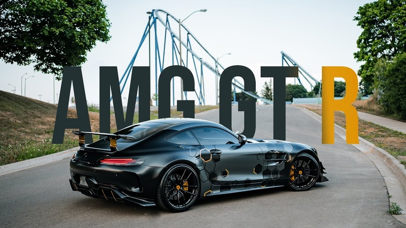 TORONTO'S BADDEST AMG GTR ALL MURDERED OUT DONUTS