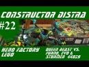 LEGO Hero Factory 44029 Queen Beast vs  Furno, Evo & Stormer Build & Review