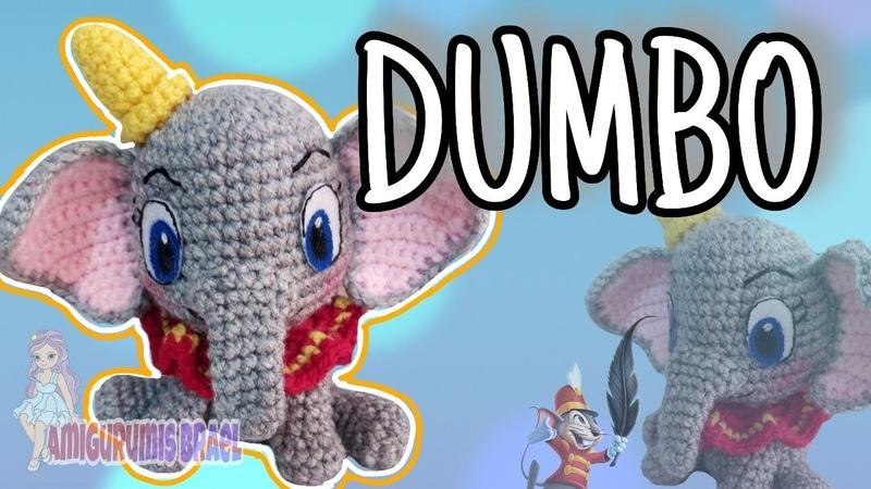 Dumbo Amigurumi paso a paso