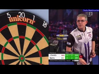 Jeff Smith vs Keane Barry (PDC World Darts Championship 2021 / Round 1)