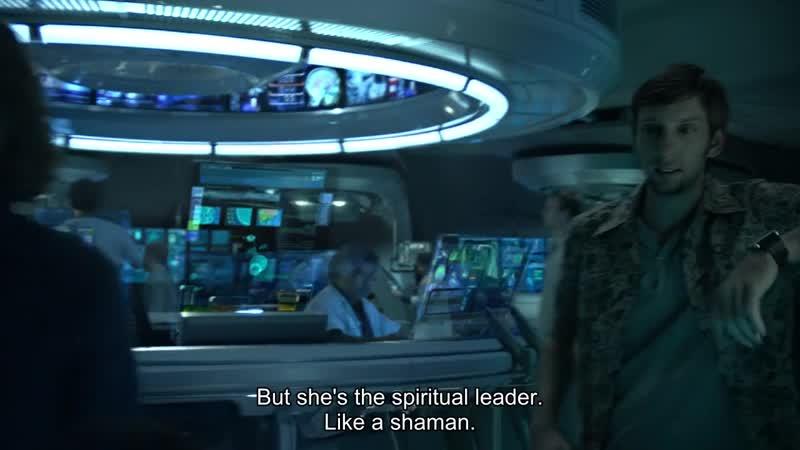 But she's the spiritual leader Like a shaman