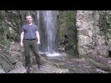 Водопад на тропе Ницше, Лазурный берег, Франция. Никогда не сдавайтесь!