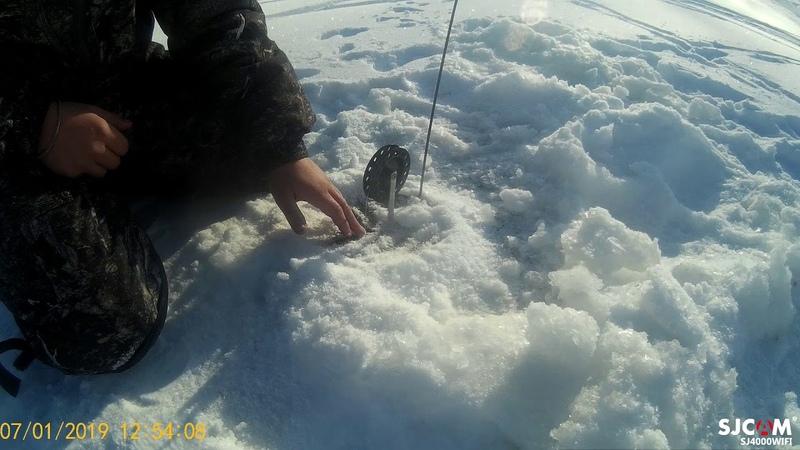 Поймали неплохую щуку на Бурейском водохранилище Талакан