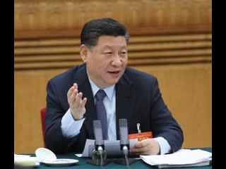 Си Цзиньпин принял участие в панельной дискуссии с депутатами ВСНП от провинции Ганьсу