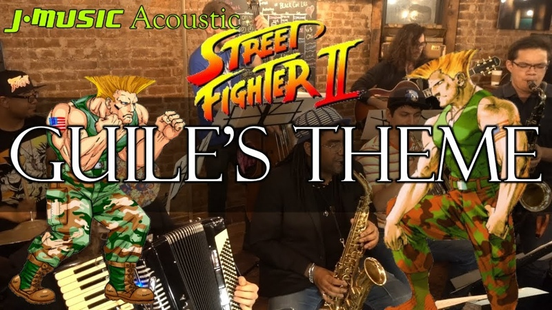 Guile's Theme Street Fighter II ft insaneintherainmusic LIVE Jazz Cover J MUSIC Pocket Band