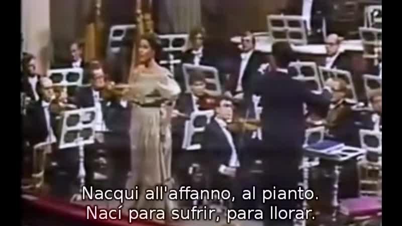 Agnes Baltsa Nacqui all'affanno Non più mesta de La Cenerentola de Rossini conductor Miguel Gómez Martínez Viena 1979