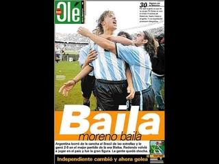 RECUERDO COMPLETO!! ARGENTINA 2 BRASIL 0 - 1999