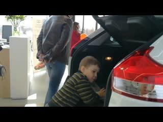 Новый автосалон Lada в Гродно интервью участника Lada клуб Беларусь Евгения Але