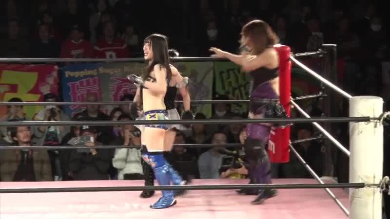 Yuna Manase Hikari Noa vs Haruna Neko Pom Harajuku YUMI TJPW Be Updated To The Future The Future The Future