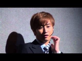 130614  [허영생] YoungSaeng talk after summer snow musical