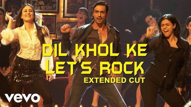 Dil Khol Ke Let's Rock Full Video We Are Family Kareena Kajol Akriti Kakar Karan Johar