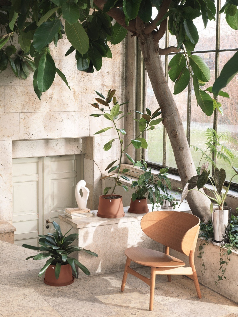 Коллекция предметов для домашних растений по дизайну Snøhetta