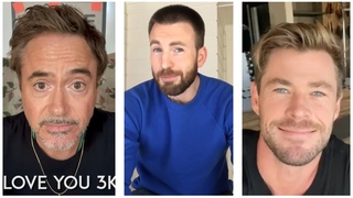 Marvel Cast During Quarantine, Part 22 | Robert Downey Jr, Chris Evans, Chris Hemsworth