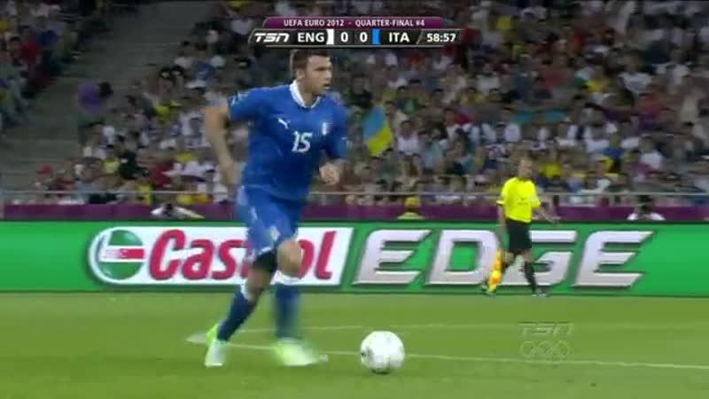 UEFA Euro 2012 - Game 28 - Quarter-finals 4 - England vs Italy (24 June 2012)