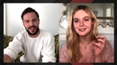 Nicholas Hoult, Elle Fanning on Filming Raunchy Scenes in 'The Great'