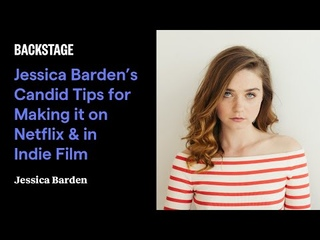 Jessica Barden's Candid Tips for Making it on Netflix & in Indie Film