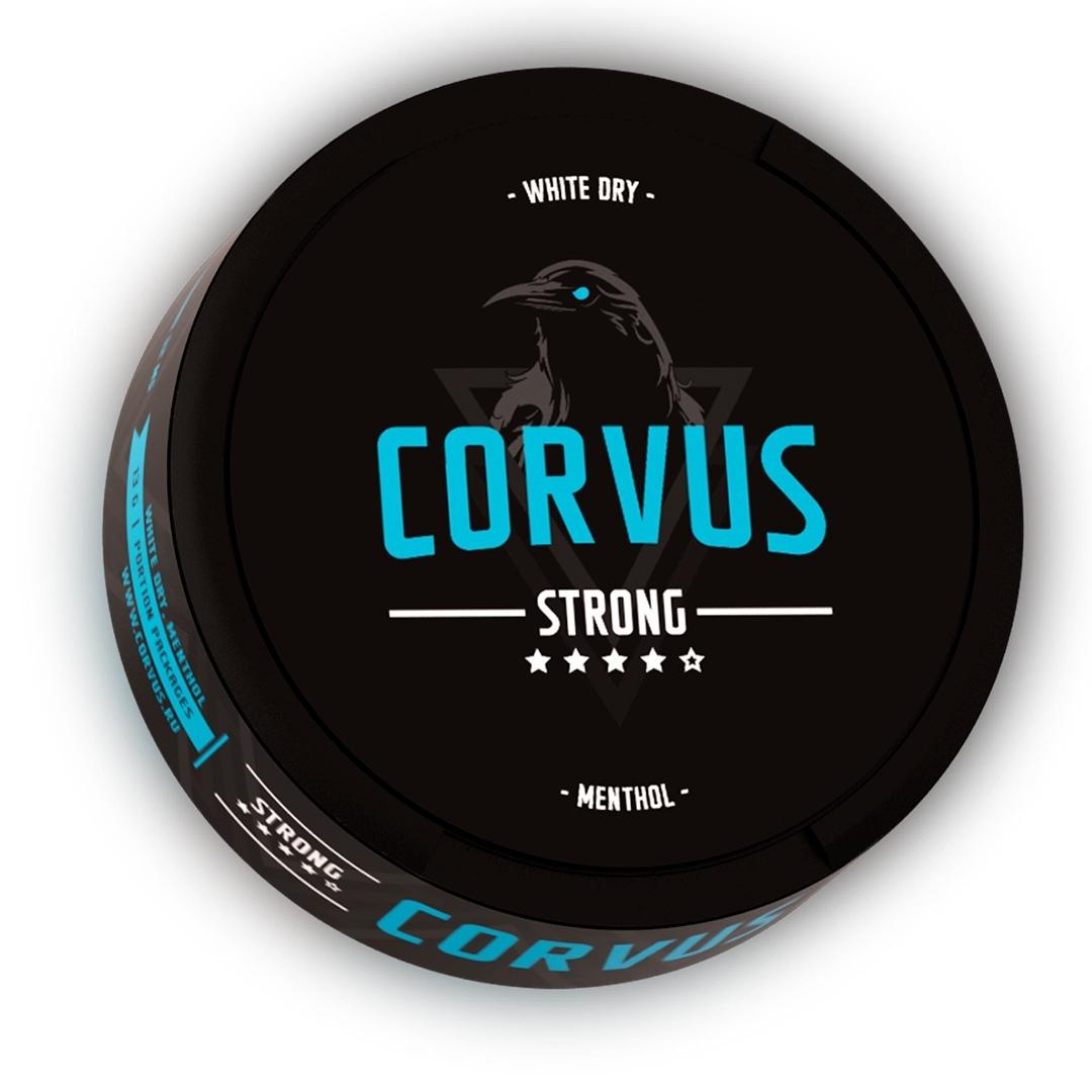 Снюс Corvus Strong (Blue) на Пхукете - 500 бат