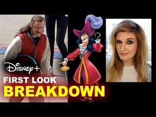 FIRST LOOK Jude Law as Captain Hook - Peter Pan & Wendy Disney Plus