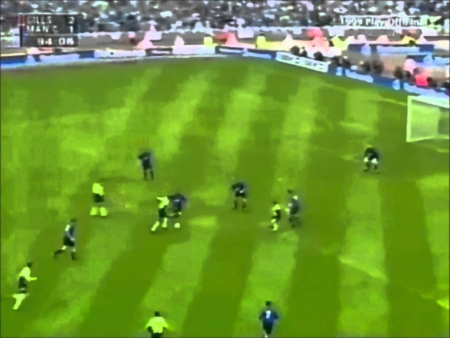 Dickov 1999 v Gillingham with Aguero vs QPR Commentary