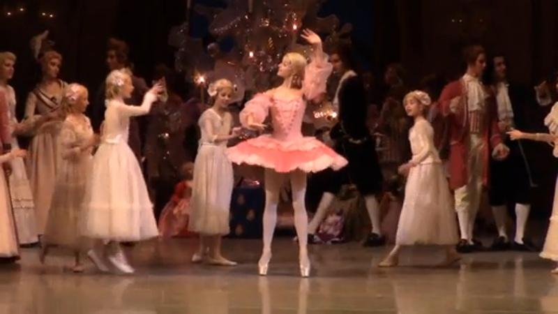Мария Хорева в балете Щелкунчик Мариинка Maria Khoreva doll the nutcracker
