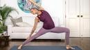 Boho Beautiful - Total Body Yoga Power Flow | 20 Minute Feel Good Yoga Class | Очень приятный флоу йога класс