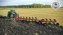 Трактор пашет сам! Гусеничный John Deere 9460RT и 11ти корпусный оборотный плуг Gregoire Besson!