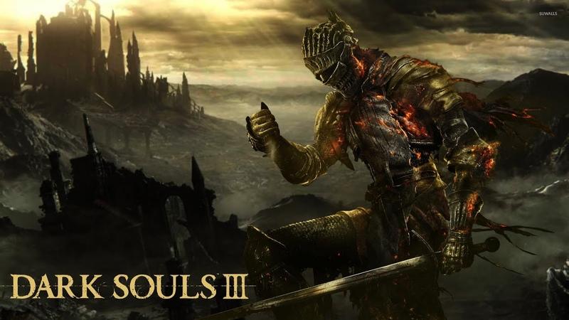 Dark Souls III БОСС Сумрак копьё церкви 21