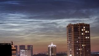 Серебристые облака (Новосибирск, )