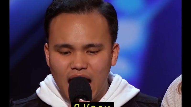 Слепой певец с аутизмом поразил жюри и зрителей на шоу талантов