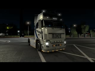 Euro Truck Simulator 2. Рейс 086. Volvo