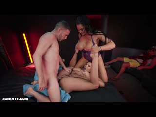 Skyla Novea  Missy Martinez  Serena Santos - Episode 4 The Brothel [All Sex, Piercing, Tattoo, MILF, Threesome, FFM]