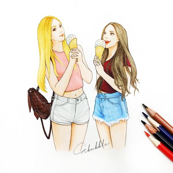 Обои На Телефон Лучшие Подруги