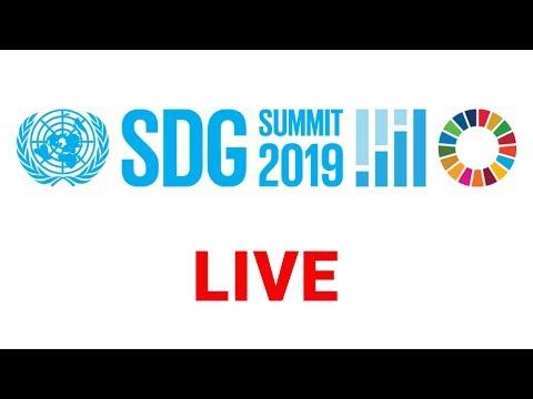 SDG Summit (Opening, Plenary, Leaders Dialogue 1)