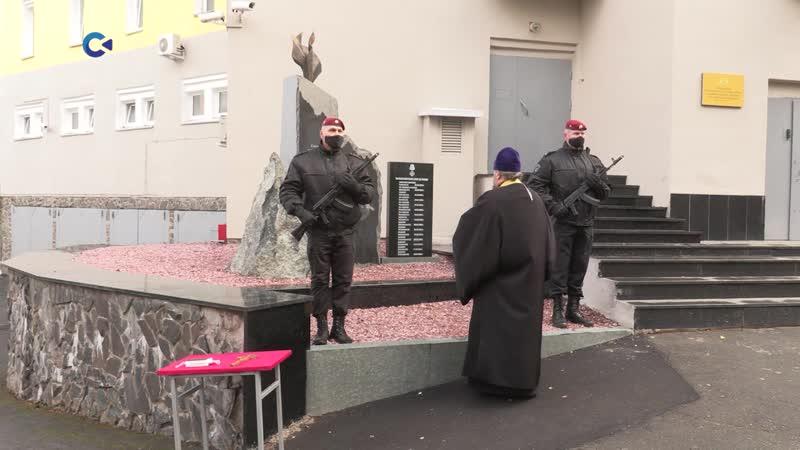 Открытие памятника бойцам Росгвардии по Карелии