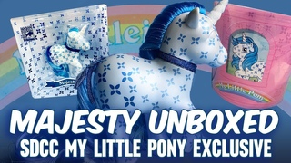 San Diego Comic Con (SDCC) Exclusive My Little Pony Majesty