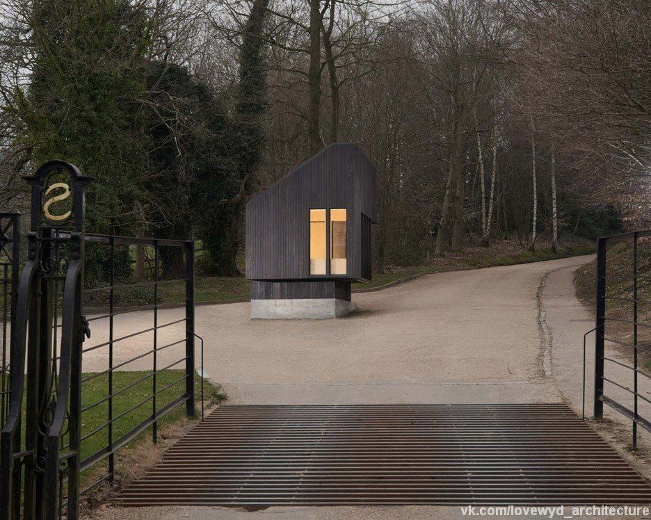NORD Architecture разработали сторожевой домик в National Trust.