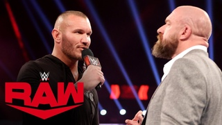 Randy Orton wants Triple H to meet him in the ring: Raw, Jan. 11, 2021