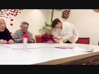 [video] 181224 lay @ the nursing home