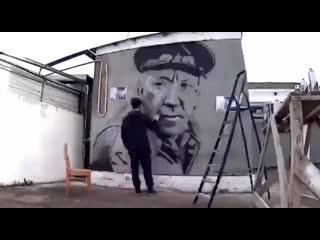 В Краснодаре появился портрет Юрия Никулина!